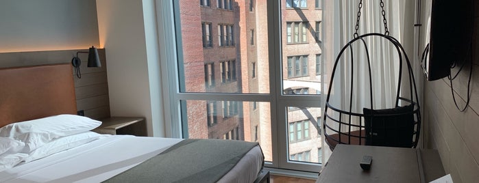 Moxy NYC Downtown is one of Lieux qui ont plu à N.