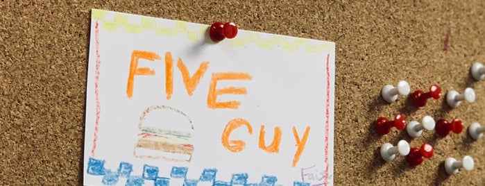 Five Guys is one of B.
