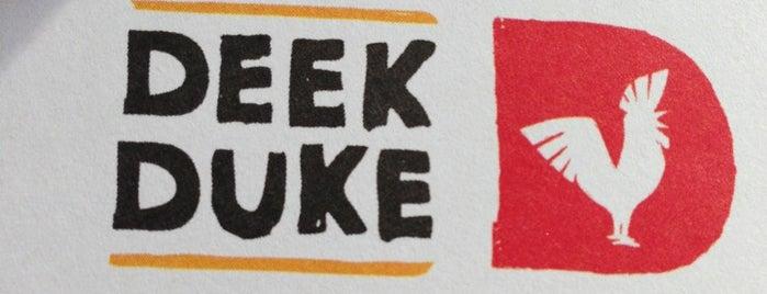 Deek Duke is one of Yummy : понравившиеся места.