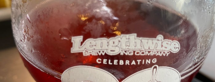 Lengthwise Brewing Company is one of Beer Stops: Fresno, CA.