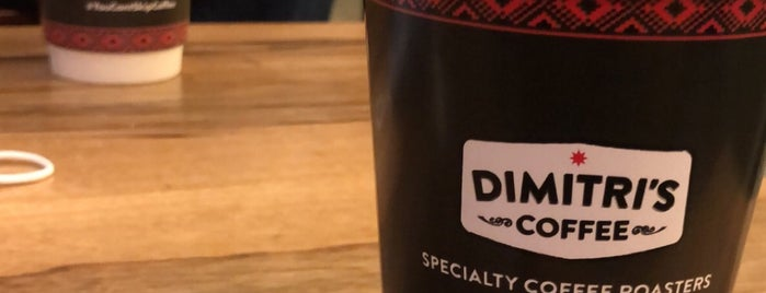 Dimitri's Coffee is one of Amman.