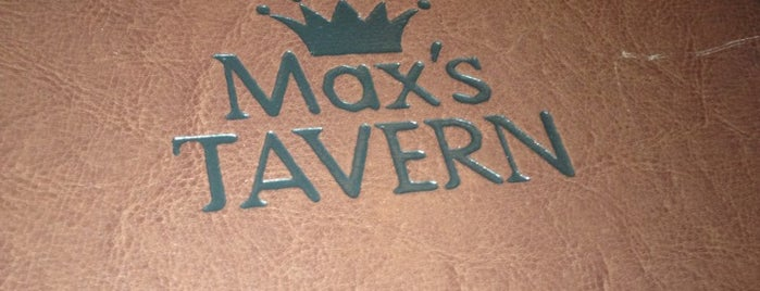 Max's Tavern is one of Lugares guardados de Laurie.
