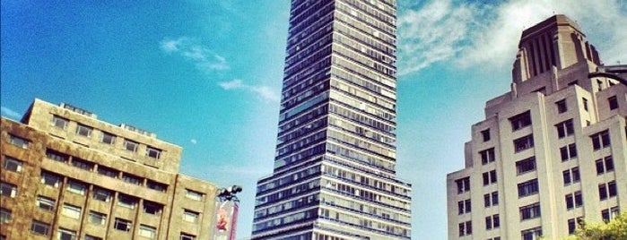 Torre Latinoamericana is one of Mexico City Mapped.