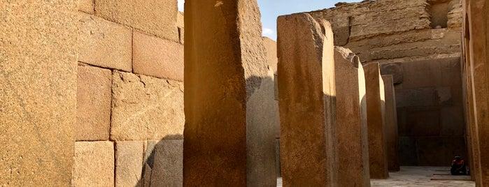 Valley Temple of Chefren is one of Orte, die Marija🍭 gefallen.