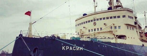 Krasin Icebreaker is one of Интересное в Питере.