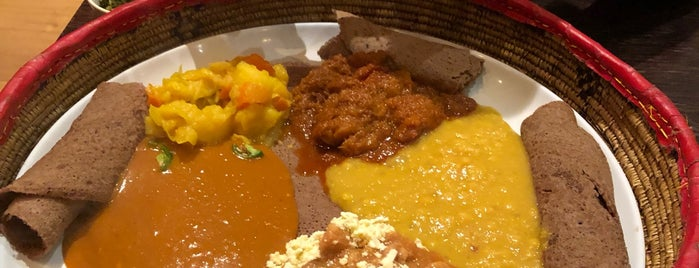 Saba's Ethiopian Restaurant is one of Melbourne.