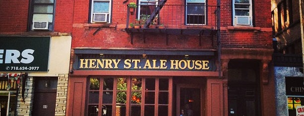 Henry Street Ale House is one of NYC MENS GUIDE.