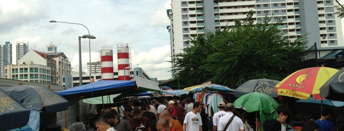 Sungei Road Thieves Market is one of Singapore Stint.