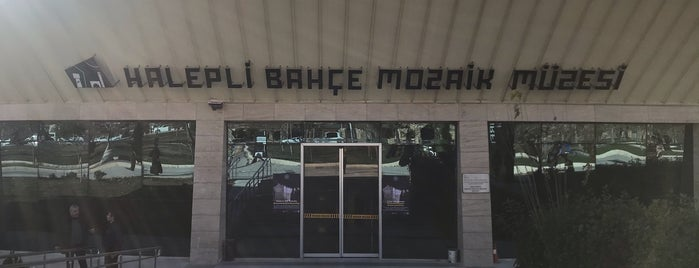 Haleplibahçe Mozaik Müzesi is one of Urfa.