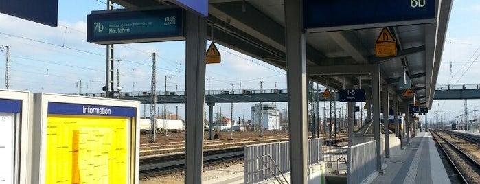 Ingolstadt Hauptbahnhof is one of สถานที่ที่ Miguel ถูกใจ.