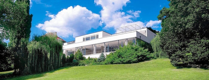 Vila Tugendhat is one of Brno.