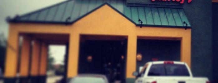 Grindstone Charley's is one of Tempat yang Disukai Jonathan.