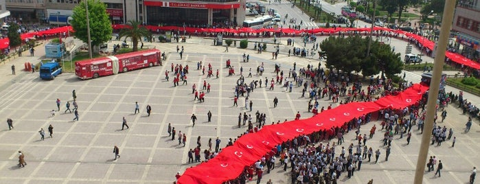 Cumhuriyet Meydanı is one of H@S@N'ın Beğendiği Mekanlar.