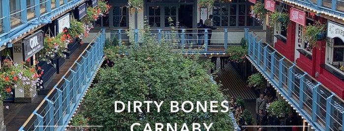 Dirty Bones is one of London ••Spottet••.