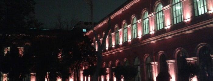 Mimarlık Fakültesi Kütüphanesi is one of Tempat yang Disukai nur.