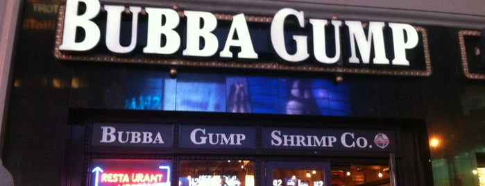 Bubba Gump Shrimp Co. is one of NYC food.