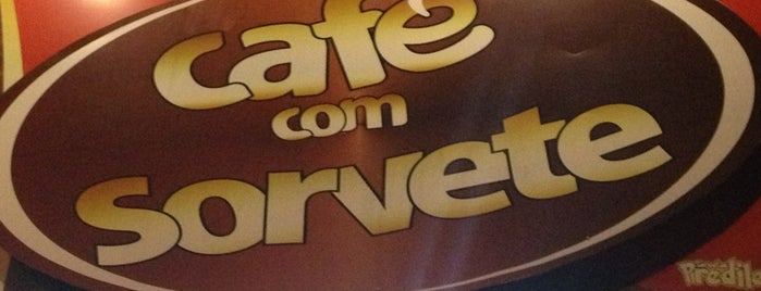 Café Com Sorvete is one of Orte, die Voumir gefallen.