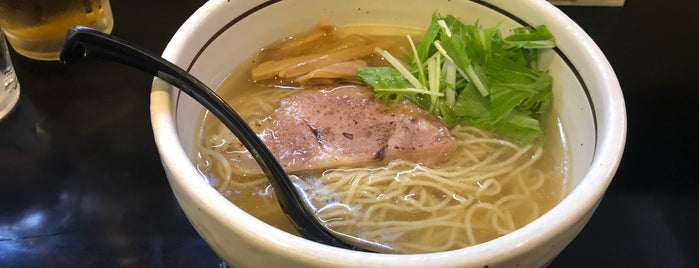 麺屋 焔 is one of Lieux sauvegardés par Hide.