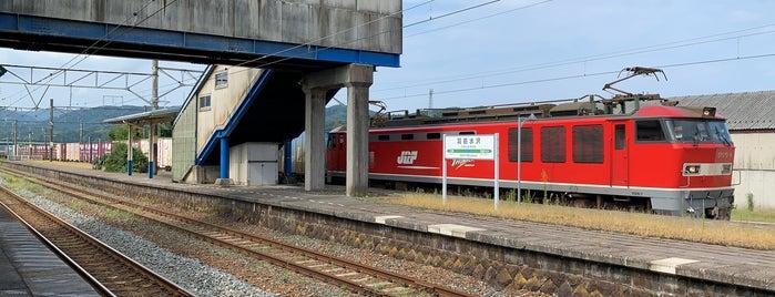 Uzen-Mizusawa Station is one of JR 미나미토호쿠지방역 (JR 南東北地方の駅).