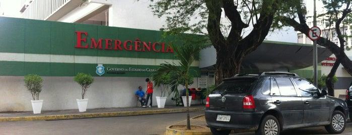 Hospital Geral de Fortaleza (HGF) is one of Locais.