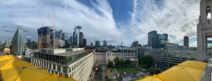 Aviary is one of London Rooftop bars.