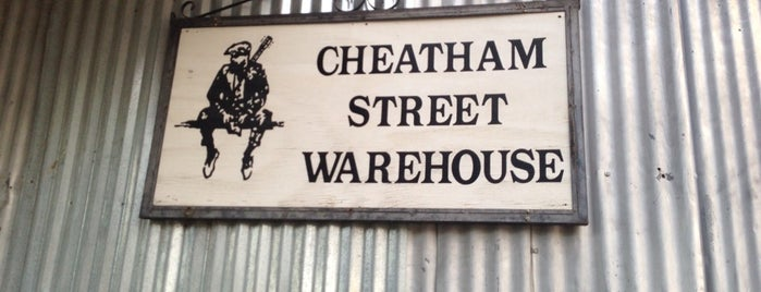 Cheatham St Warehouse is one of Tempat yang Disukai Sonny.