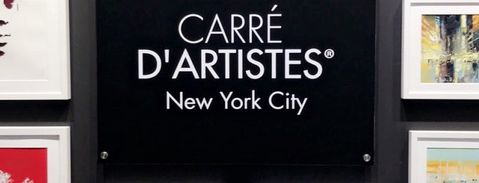 Carré D'artistes is one of NYC - Greenwich.