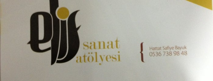 Elif Sanat Atölyesi is one of <3<3<3.