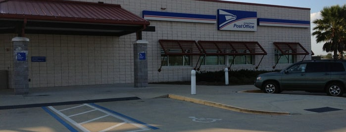 US Post Office is one of Orte, die Chris gefallen.