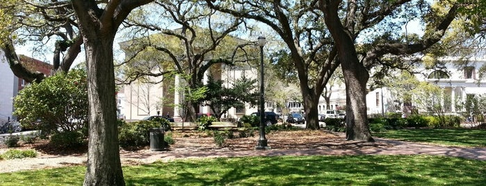 Telfair Square is one of Savannah Trip.