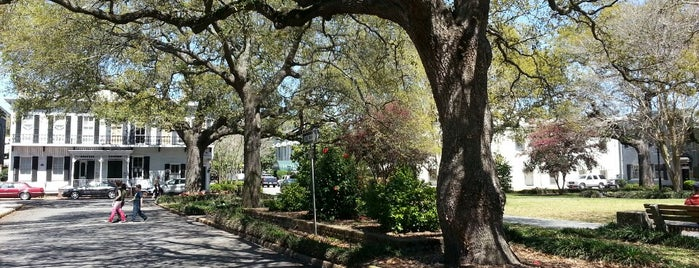 Washington Square is one of Outdoors in Savannah.