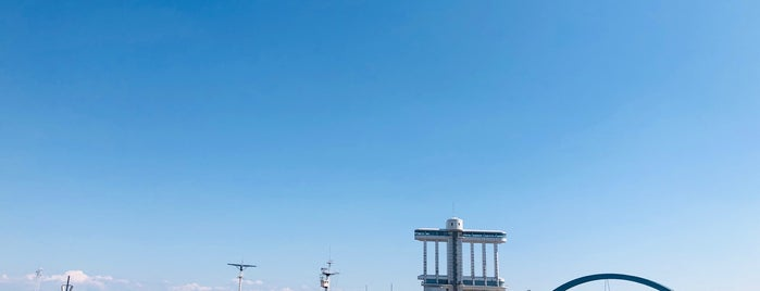 Port of Nagoya is one of Masahiro : понравившиеся места.