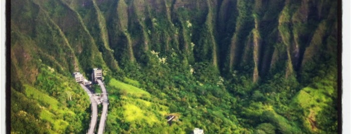 Top of Stairway To Heaven is one of USA Hawaii Oahu.