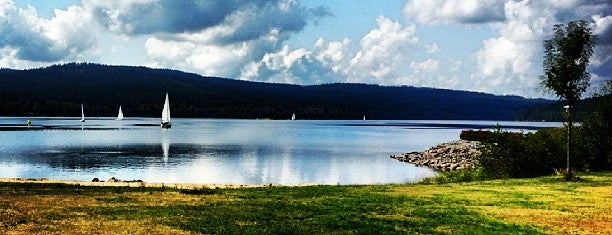 Vodní nádrž Lipno is one of Favorite Great Outdoors.