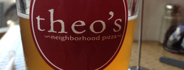Theo's Neighborhood Pizza is one of Antonio's Saved Places.