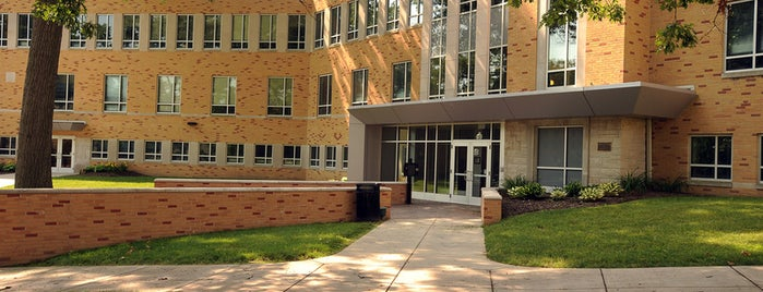 Oscar Ritchie Hall is one of Kent State.