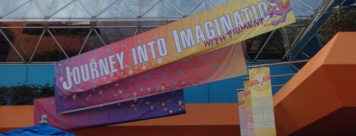 Journey Into Imagination With Figment is one of ATS TRAVEL FL  EPCOT.