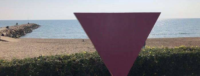 Monument LGBTI - Triangle Rosa is one of Lieux qui ont plu à jordi.