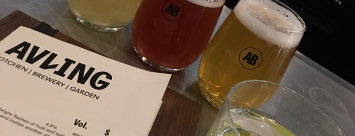 Avling Kitchen & Brewery is one of Toronto Fall/Winter 2019.