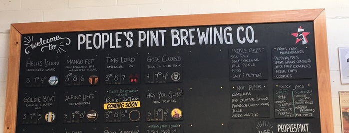 People's Pint Brewing Company is one of Daniel's Saved Places.