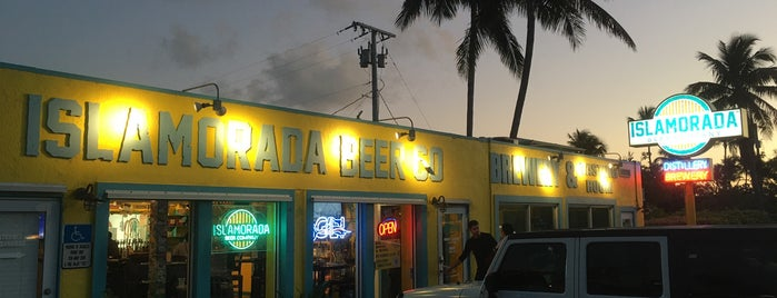Islamorada Beer Company is one of Key West.