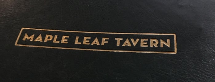 Maple Leaf Tavern is one of Posti che sono piaciuti a Boris.