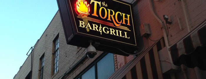 The Torch Bar and Grill is one of Posti salvati di Christopher.