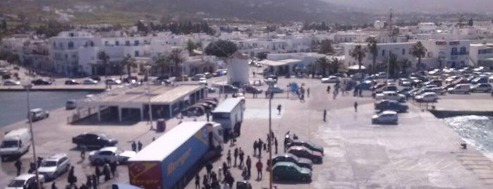 Port Authority Of Paros is one of Europe.