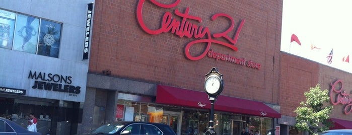 Century 21 Department Store is one of NYC.