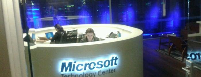 Microsoft Technology Center - MTC is one of João Vitor : понравившиеся места.