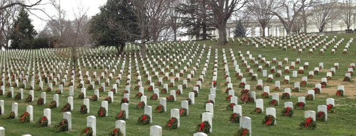 Arlington National Cemetery is one of Washington D.C..