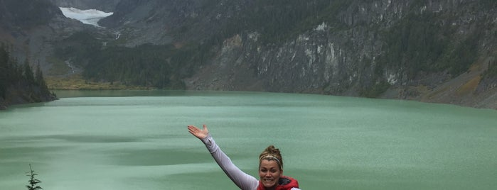 Blanca Lake is one of Pacific Northwest.
