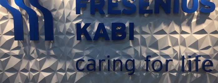 Fresenius Kabi is one of Lugares favoritos de Jam.
