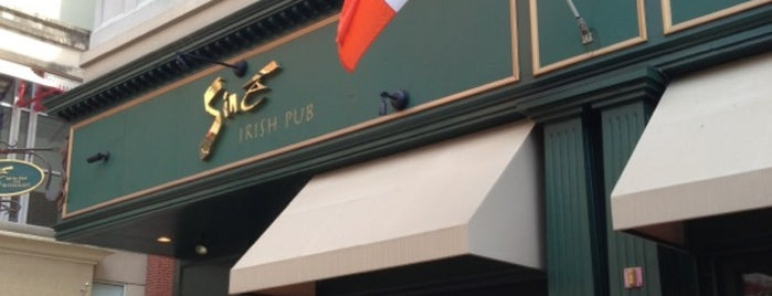 Siné Irish Pub & Restaurant is one of Local Redskins Rally Bars.